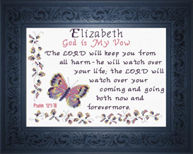 Name Blessings - Elizabeth 4 | Crafting | Cross-Stitch | Other