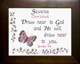 name blessings - savana