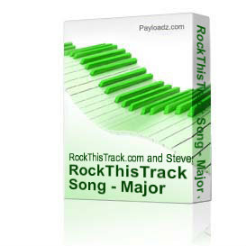 RockThisTrack Song - Major Jam With a Twist 3 | Music | Backing tracks