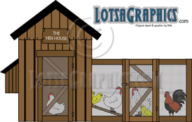 hen house clipart download