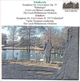 Tchaikovsky: Symphony No. 6 in b mnor, Op. 74 Pathetique - Czech Philharmonic Orchestra/Lovro von Matacic; Schubert: Symphony No. 8 in b minor, D. 759 Unfinished - Czech Philharmonic Orchestra/Vaclav Neumann | Music | Classical
