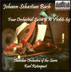JS Bach: Orchestral Suites, BWV 1066-1069 - Roger Bourdin, flute; Maurice André, Marcel Lagorce, Jacques Mas, trumpets; Chamber Orchestra of the Sarre/Karl Ristenpart - | Music | Classical