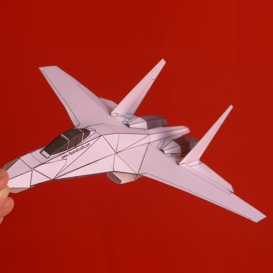 Paper Su-27 White