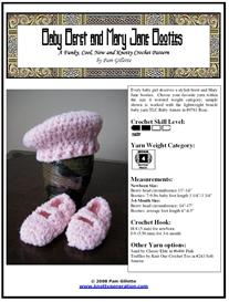 Baby Beret and Mary Jane Booties | Other Files | Arts and Crafts