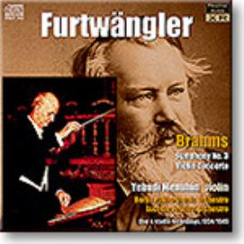 FURTWANGLER conducts BRAHMS Symphony 3, Violin Concerto, Ambient Stereo MP3 | Music | Classical