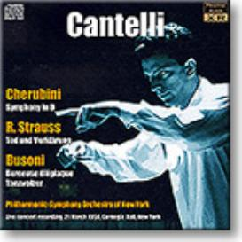 CANTELLI conducts Cherubini, R. Strauss, Busoni, Ambient Stereo 16-bit FLAC | Music | Classical