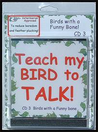 Teach My Bird to Talk CD 3 - Birds with a Funny Bone! - Instant download over 90 MP3s, this is not a physical disc. | Other Files | Everything Else