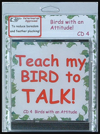 Teach My Bird to Talk CD 4 - Birds with an Attitude! - Instant download over 90 MP3s, this is not a physical disc. | Other Files | Everything Else