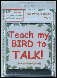 teach my bird to talk cd 5 - playful bird phrases! - instant download over 90 mp3s, this is not a physical disc.