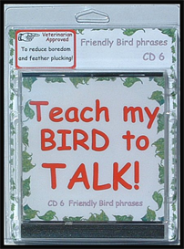 Teach My Bird to Talk CD 6 - Friendly Bird Phrases! - Instant download over 90 MP3s, this is not a physical disc. | Other Files | Everything Else