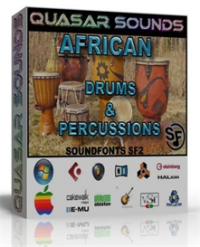 African Drums And Percussions Soundfonts Sf2 | Music | Soundbanks