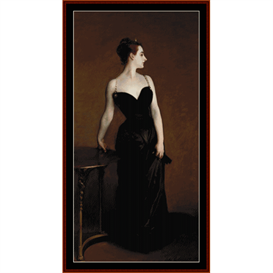 Madame X - Sargent cross stitch pattern by Cross Stitch Collectibles | Crafting | Cross-Stitch | Wall Hangings