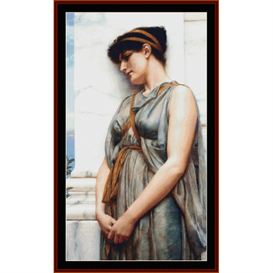 Grecian Reverie, Godward cross stitch pattern by Cross Stitch Collectibles | Crafting | Cross-Stitch | Other