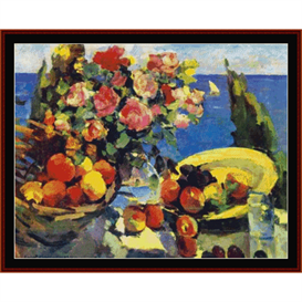 Still Life I, Korovin cross stitch pattern by Cross Stitch Collectibles | Crafting | Cross-Stitch | Wall Hangings