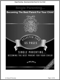 becoming the best parent for your child!