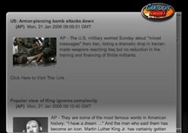 RSS Reader in Flash   Movies and Videos   Educational