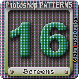 16 photoshop screen pattern
