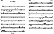 Smokin' O.P's Big Band Parts 11x17 2up | Music | Jazz