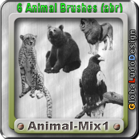 animal brushes free