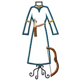 merida archery dress form