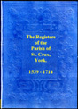 parish registers of st. crux, york