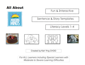All About Awakening Minds' Fun and Interactive Sentence and Story Templates (Literacy Levels 1–4)