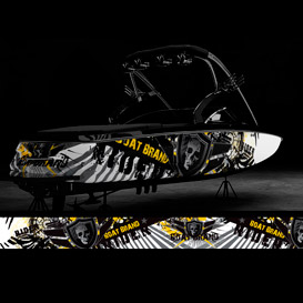 motox boat graphic