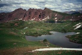 Alpine Tarn Hi-Res Image | Photos and Images | Nature