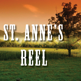 st. anne's reel full tempo backing track