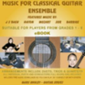 Music For Classical Guitar Ensemble | eBooks | Education