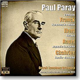 PARAY conducts Franck, Ibert, Ravel, Chabrier, mono 16-bit FLAC | Music | Classical