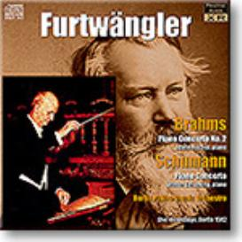 FURTWANGLER conducts BRAHMS, SCHUMANN Piano Concertos, 1942, Ambient Stereo MP3 | Music | Classical