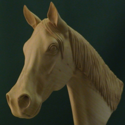 First Additional product image for - Carving a Horse's Head Video DL
