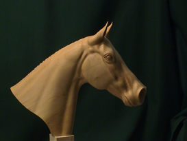 A1 Carving a Horse's Head Video DL | Movies and Videos | Arts