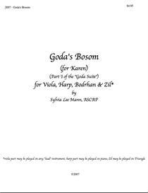 goda's bosom sheet music set