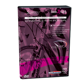Iron Girl 1.0 - Spinervals Cycling with Iron Girl | Movies and Videos | Fitness