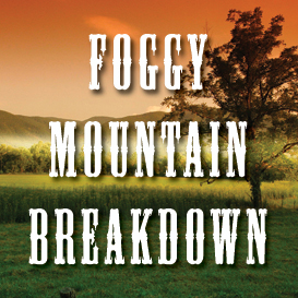 foggy mountain breakdown full tempo backing track