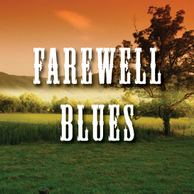 farewell blues backing track