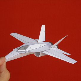 Paper F-18 White