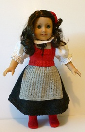 Doll Knitting Pattern - C005 - Austrian Traditional Costume | Crafting | Sewing | Other