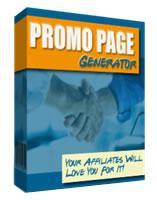 Promo Page Generator | Software | Utilities