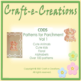 Craft-e-Creations Patterns for Parchment Vol 1 | Crafting | Paper Crafting | Other