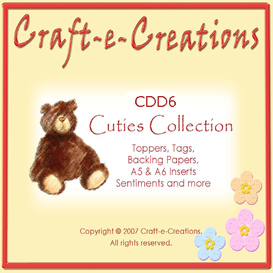 Craft-e-Creations Cuties Collection | Crafting | Paper Crafting | Other