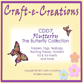 Craft-e-Creations Butterfly Collection | Crafting | Paper Crafting | Other