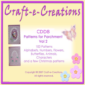 craft-e-creations patterns for parchment vol 2
