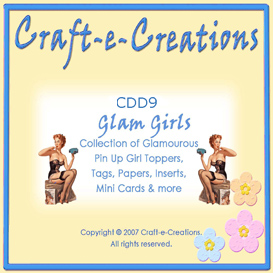 Craft-e-Creations Glam Girls Collection | Crafting | Paper Crafting | Other