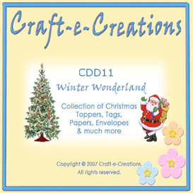 Craft-e-Creations Winter Wonderland | Crafting | Paper Crafting | Other