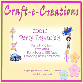 Craft-e-Creations 'Party Essentials' | Crafting | Paper Crafting | Other