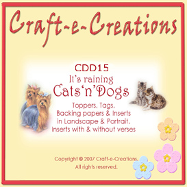 Craft-e-Creations Raining Cats n Dogs Collection | Crafting | Paper Crafting | Other