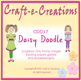 Craft-e-Creations Daisy Doodle Image Stamps | Crafting | Paper Crafting | Other